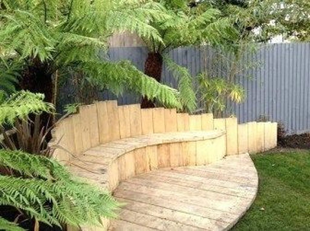 The Best Front Yard Landscaping Ideas Sitting Area 03