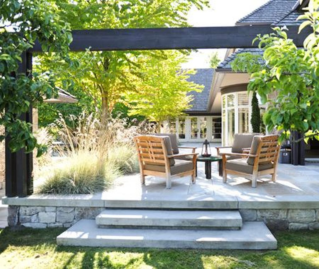 The Best Front Yard Landscaping Ideas Sitting Area 19