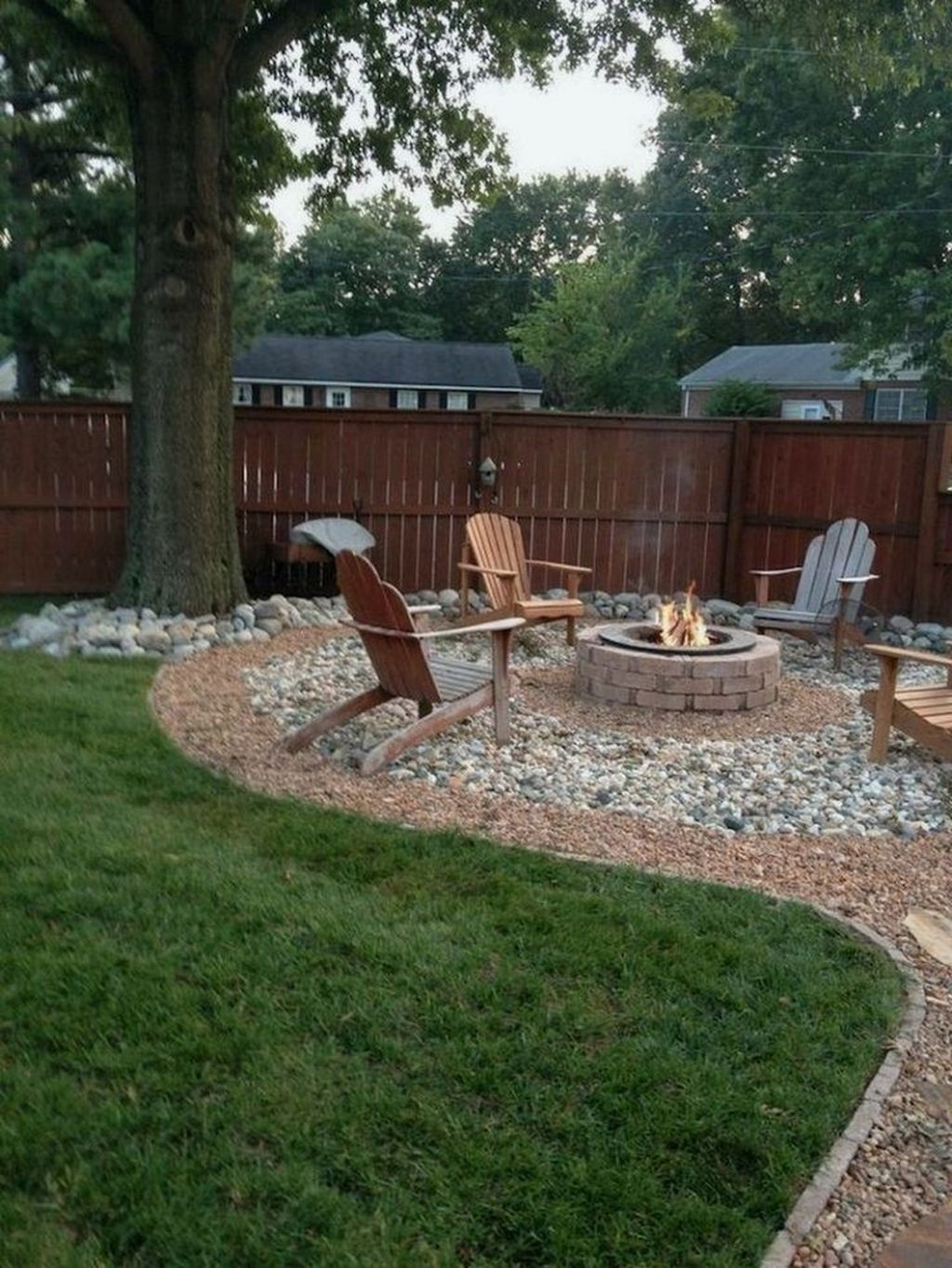 The Best Front Yard Landscaping Ideas Sitting Area 20
