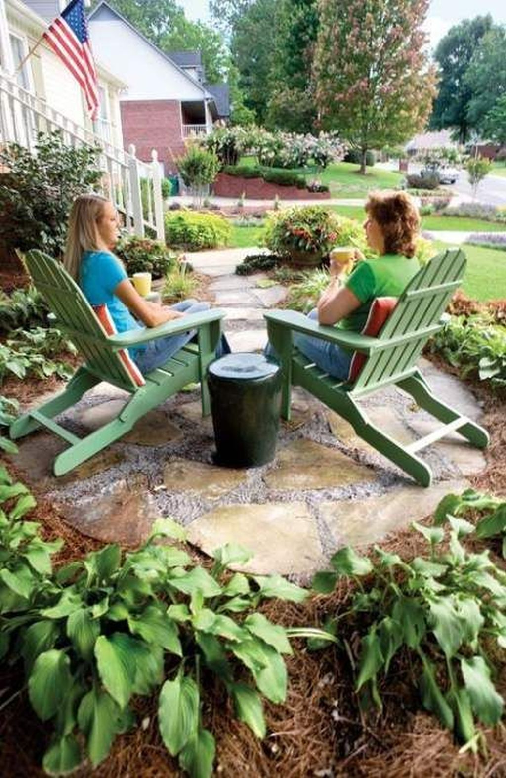 The Best Front Yard Landscaping Ideas Sitting Area 21
