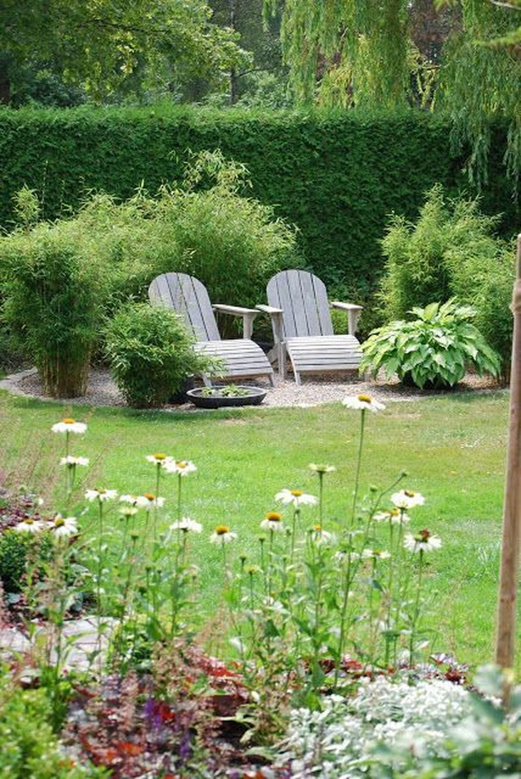 The Best Front Yard Landscaping Ideas Sitting Area 22
