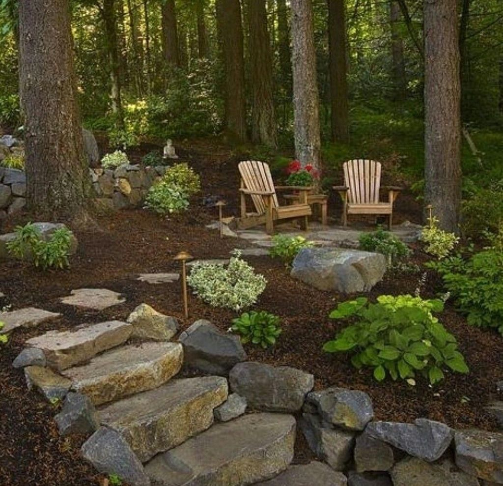 The Best Front Yard Landscaping Ideas Sitting Area 26