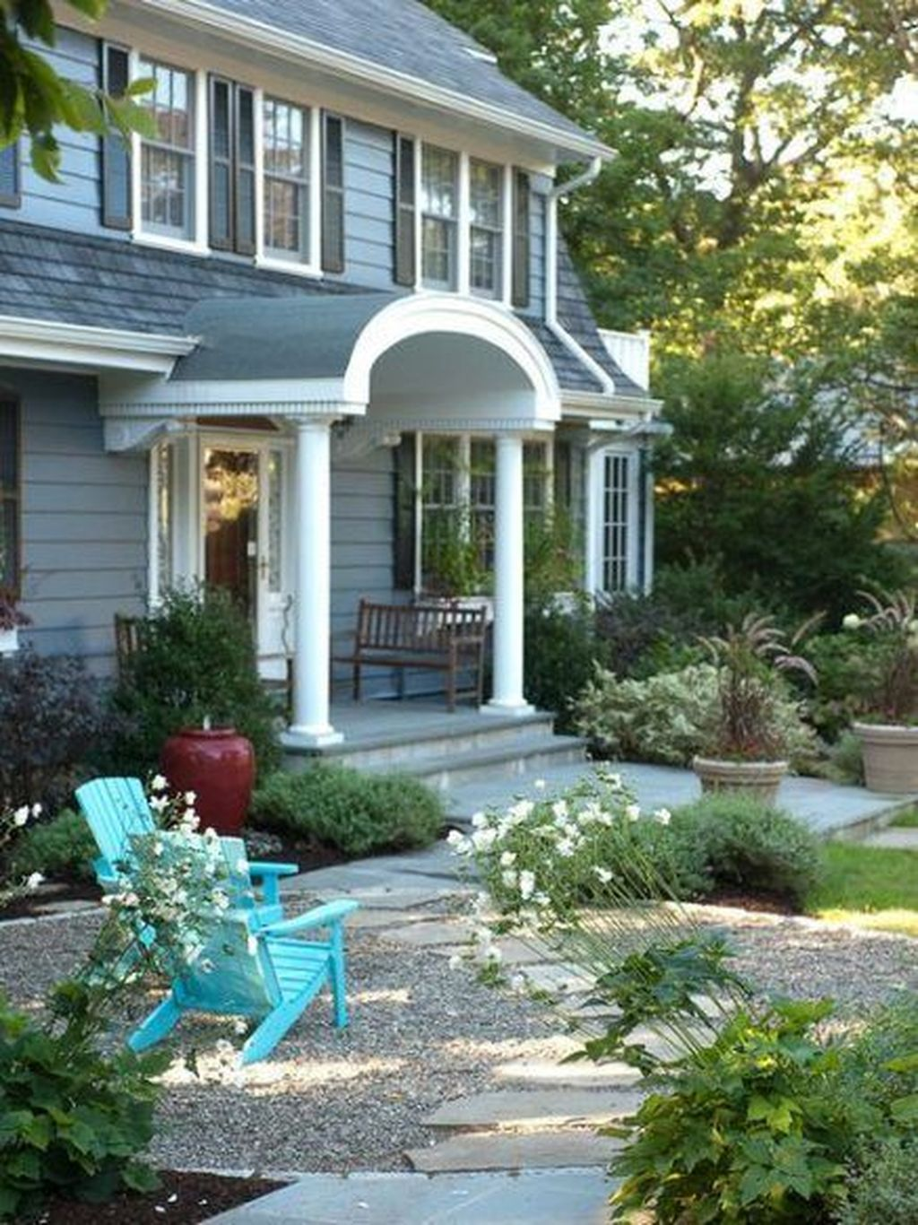 The Best Front Yard Landscaping Ideas Sitting Area 29
