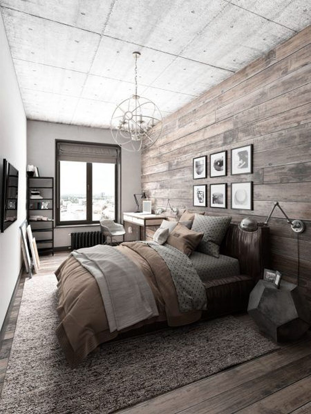 The Best Small Master Bedroom Design Ideas WIth Farmhouse Style 14