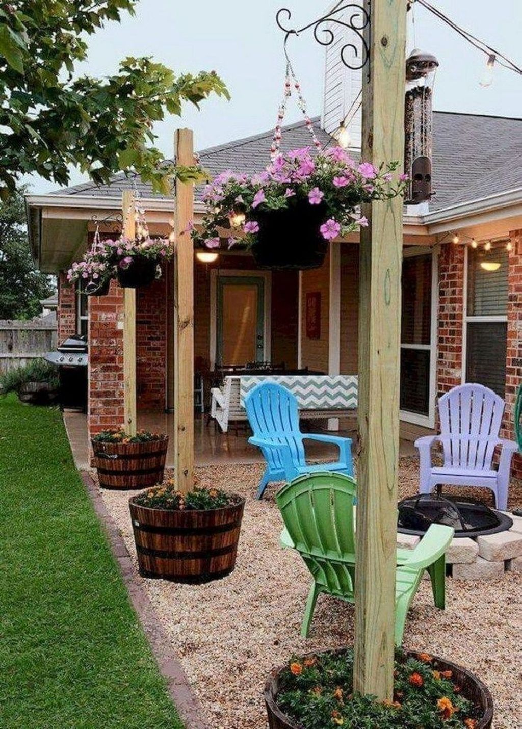 Wonderful Backyard Patio Design Ideas For Outdoor Decor 06