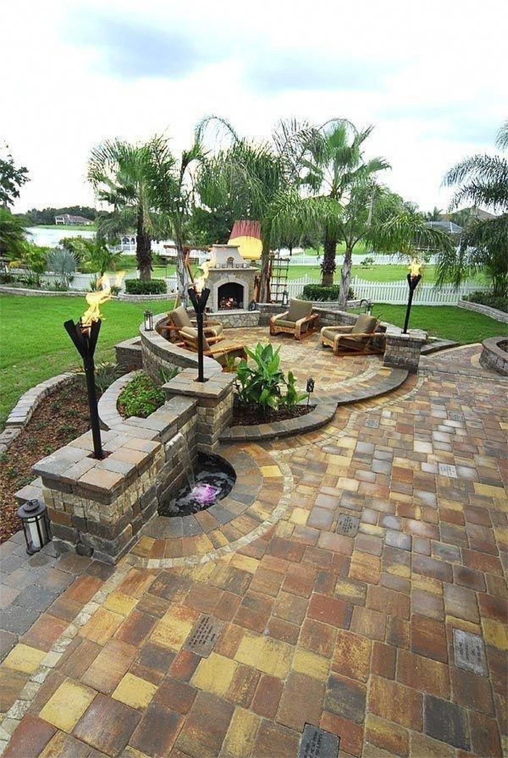 Wonderful Backyard Patio Design Ideas For Outdoor Decor 10