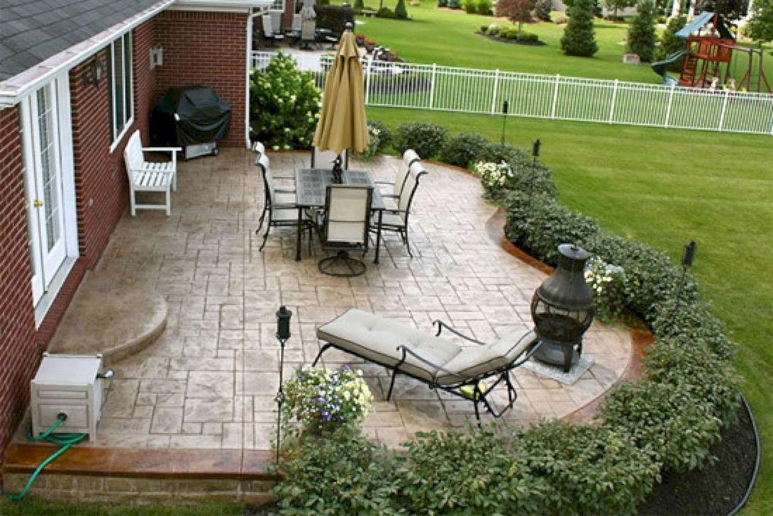 Wonderful Backyard Patio Design Ideas For Outdoor Decor 15