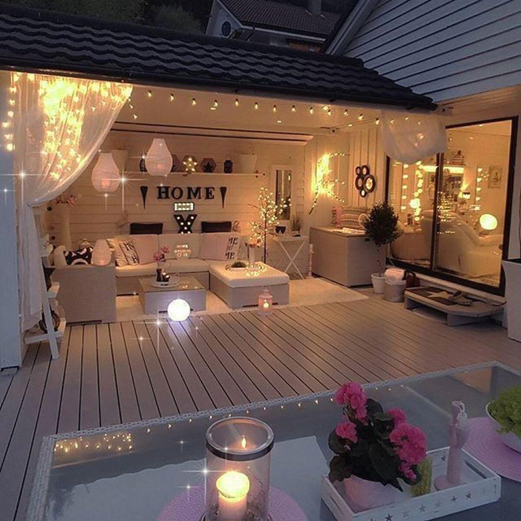 Wonderful Backyard Patio Design Ideas For Outdoor Decor 20