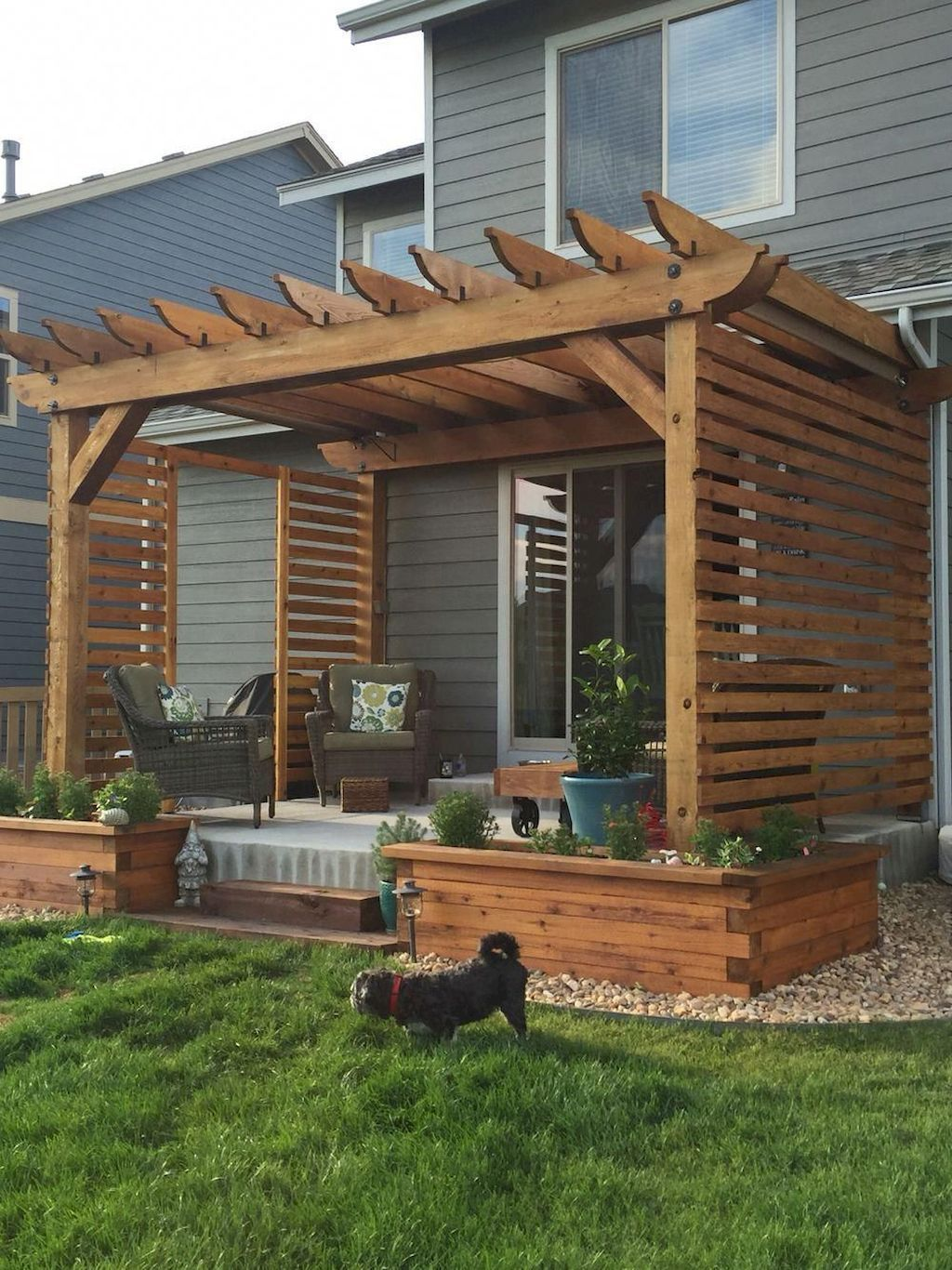 Wonderful Backyard Patio Design Ideas For Outdoor Decor 23