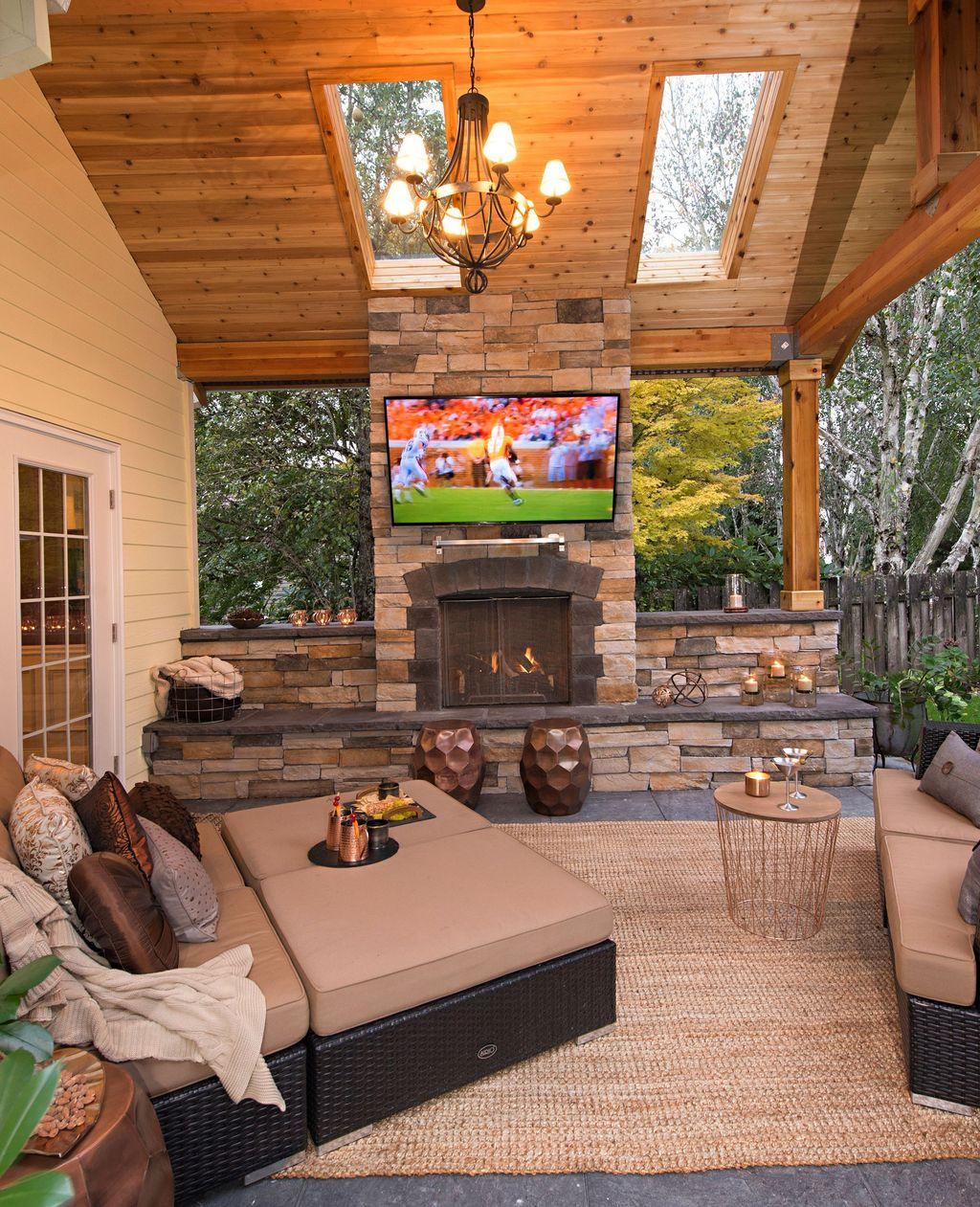 Wonderful Backyard Patio Design Ideas For Outdoor Decor 27