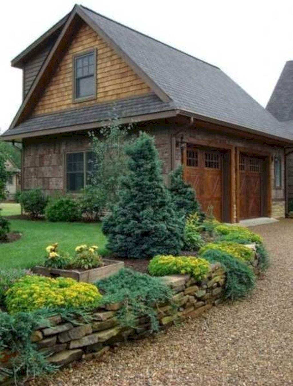 Wonderful Evergreen Landscape Ideas For Front Yard 02