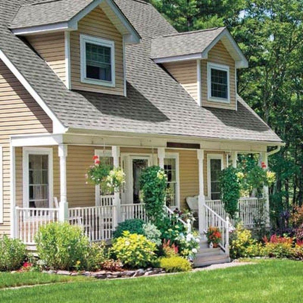 Wonderful Evergreen Landscape Ideas For Front Yard 03