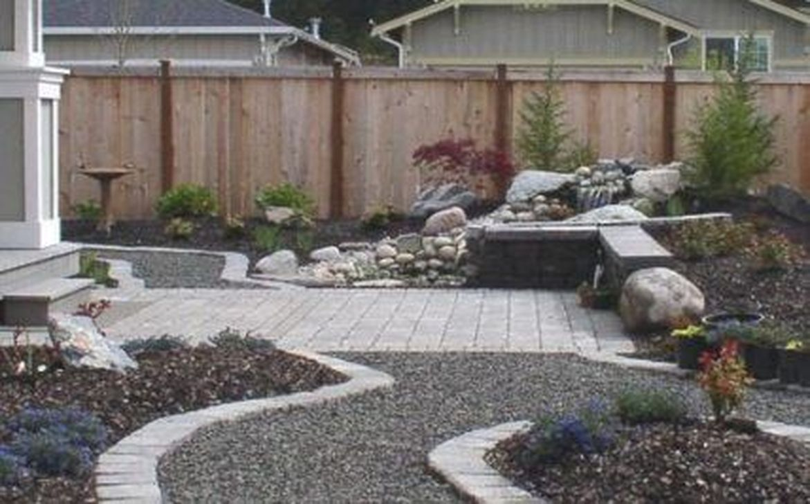 Wonderful Yard No Grass Design Ideas 11