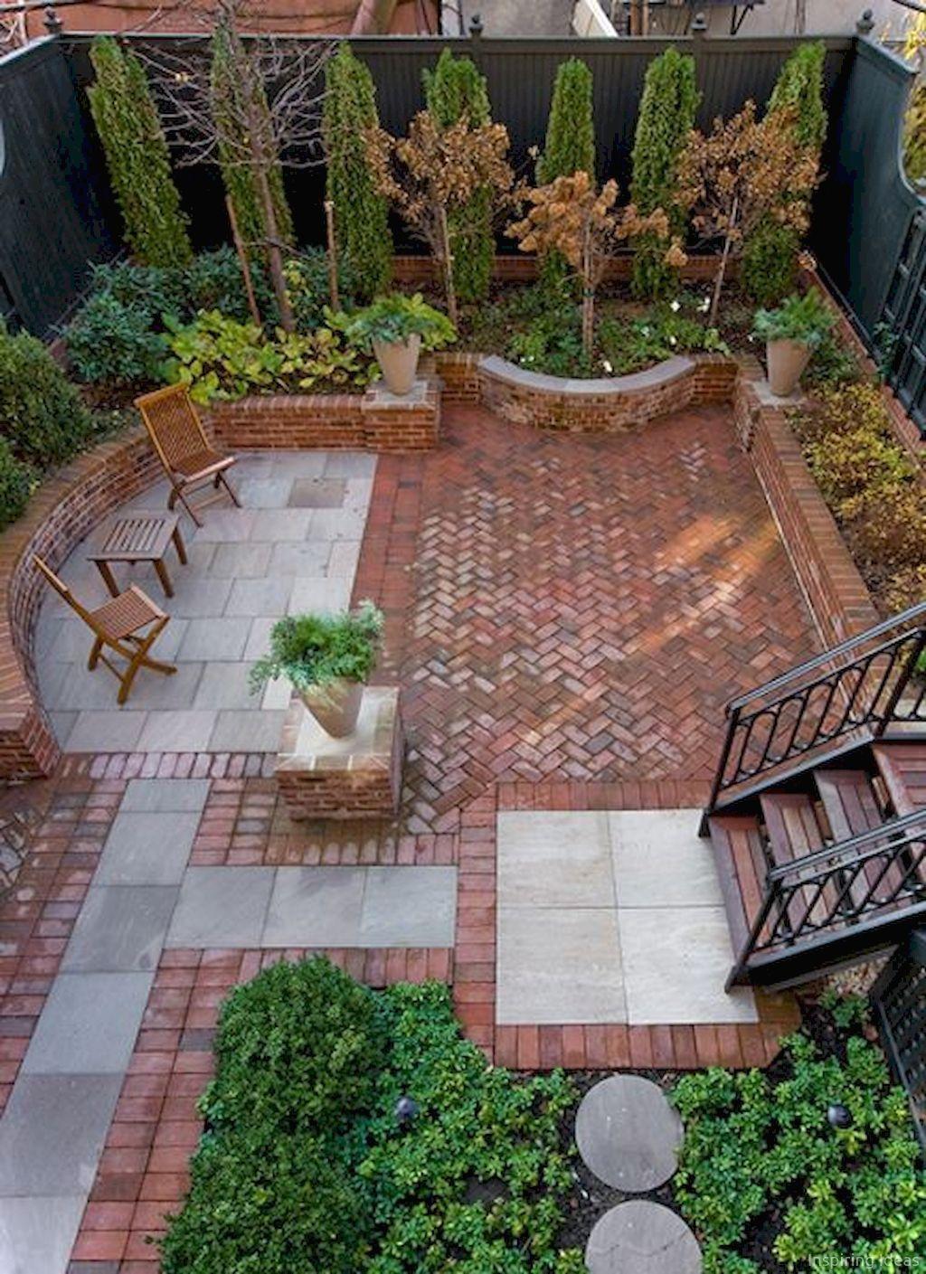 Wonderful Yard No Grass Design Ideas 26
