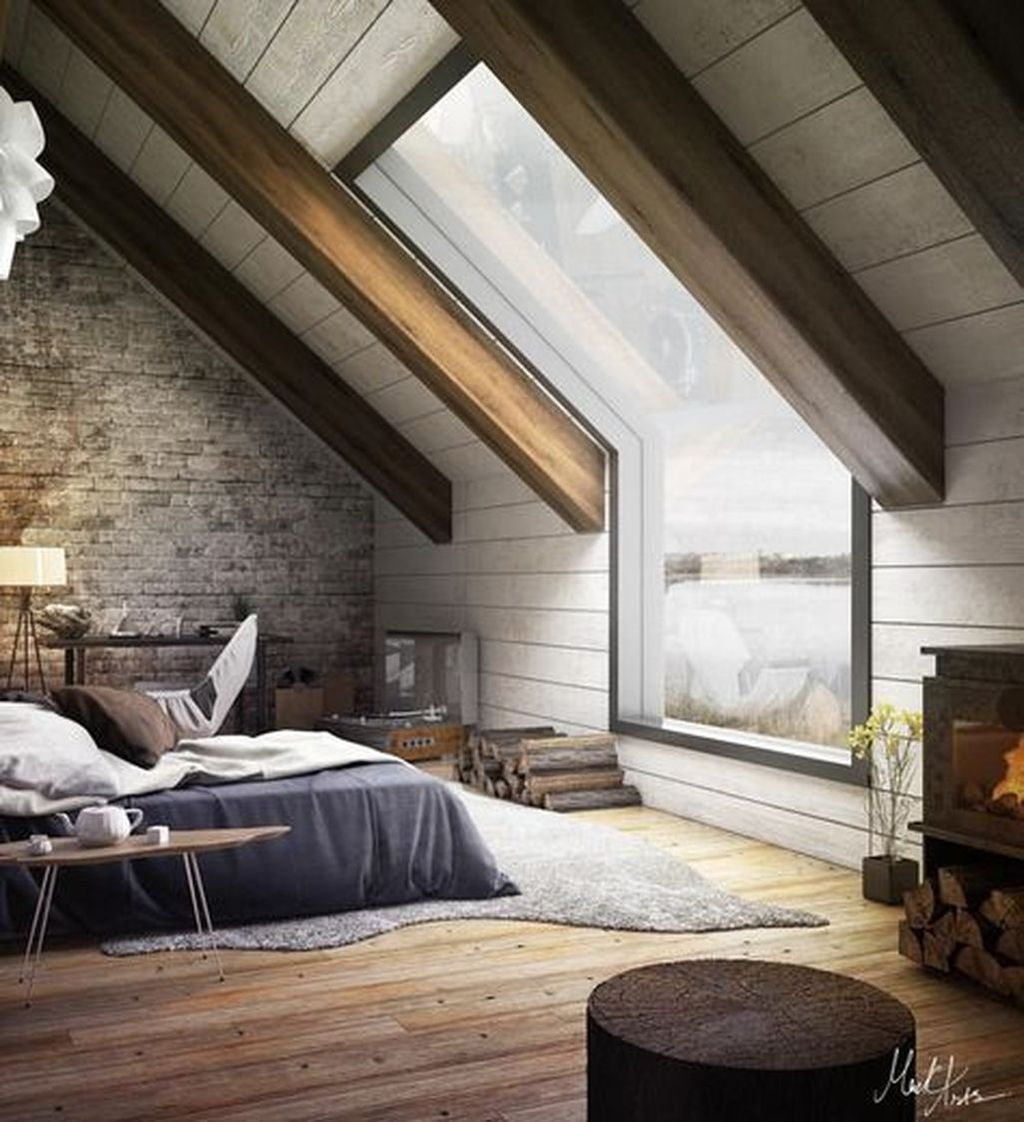 Amazing Attic Bedroom Design Ideas That You Will Like 06