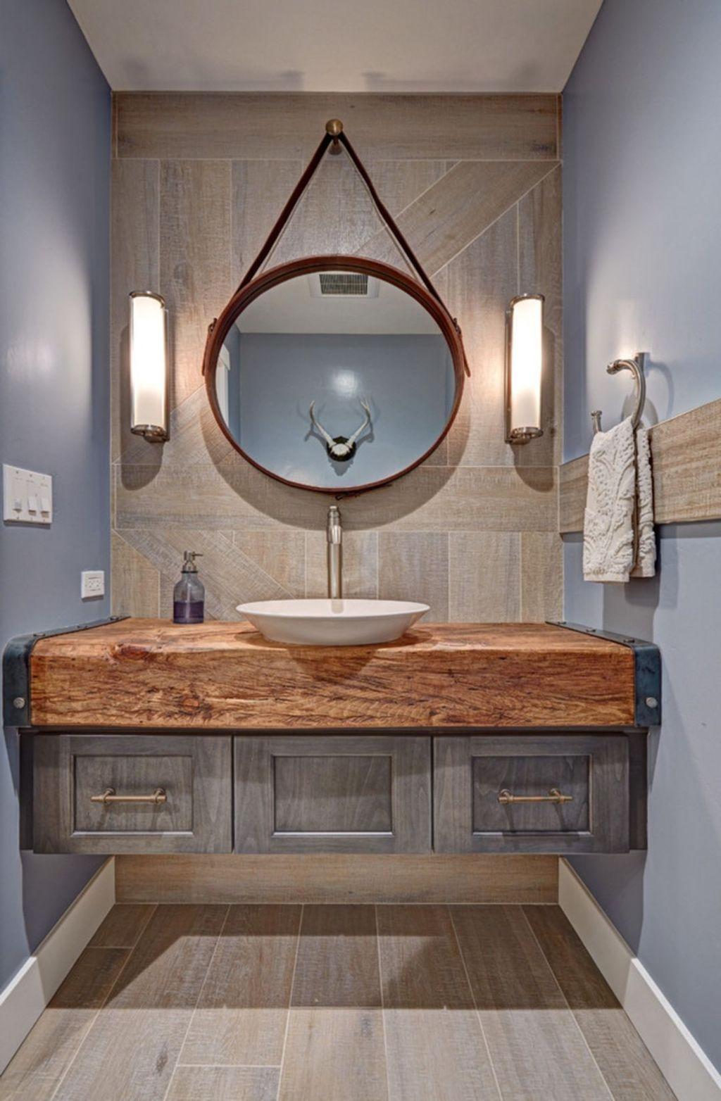 Amazing Farmhouse Bathroom Decor Ideas 02