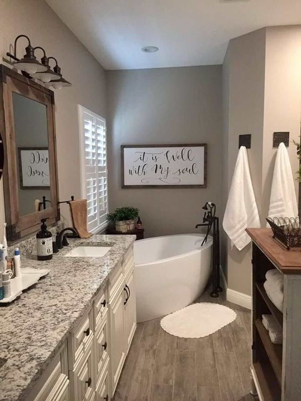 Amazing Farmhouse Bathroom Decor Ideas 15
