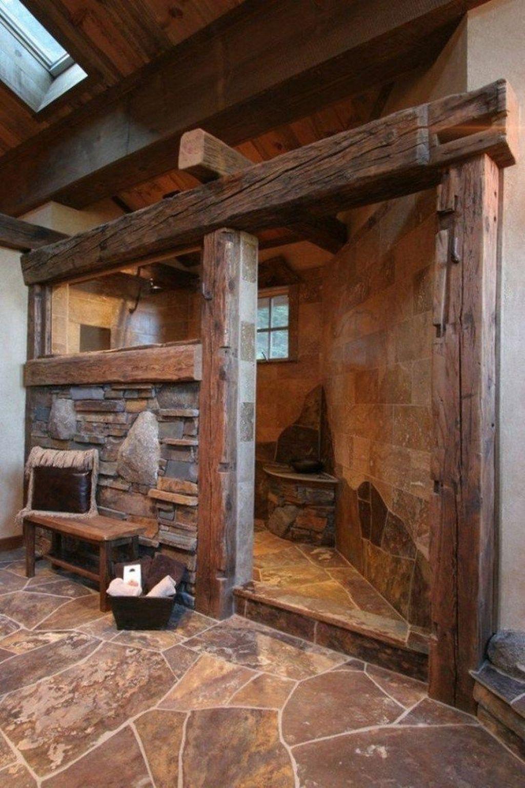 Amazing Farmhouse Bathroom Decor Ideas 31