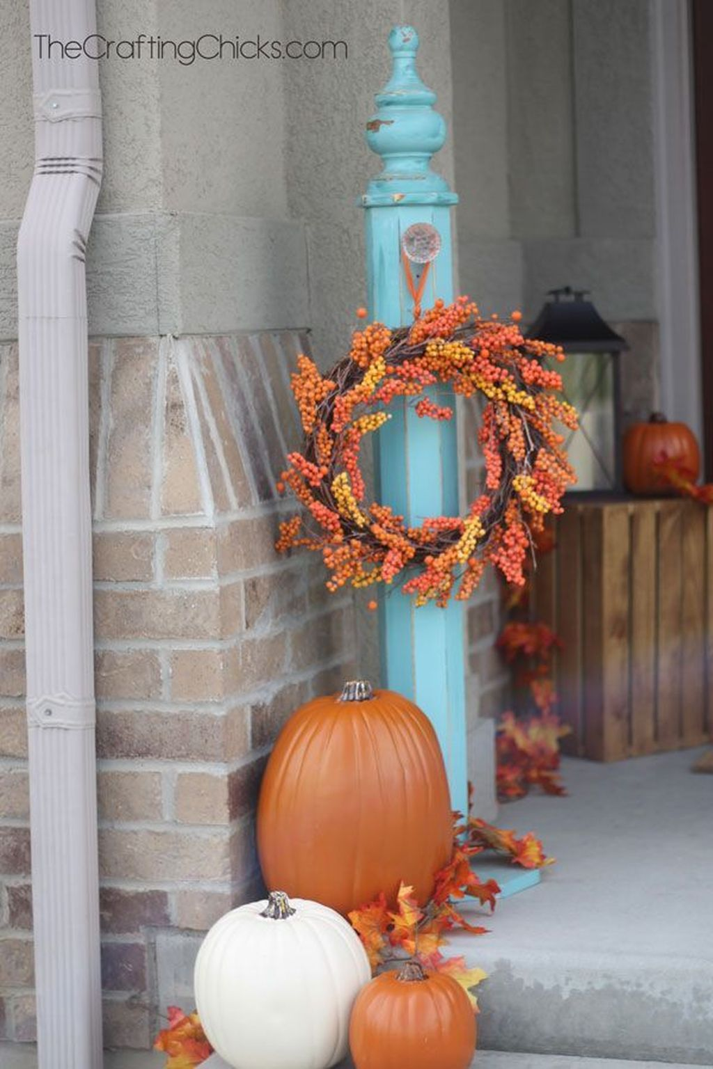 Amazing Front Porch Fall Decor Ideas That You Never Seen Before 14