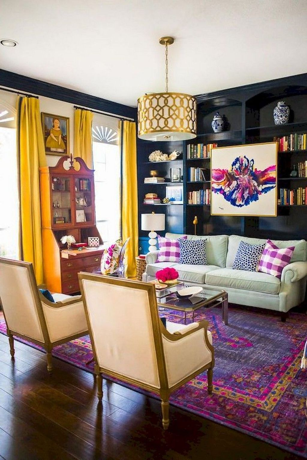 Amazing Vintage Living Room Decor Ideas 15