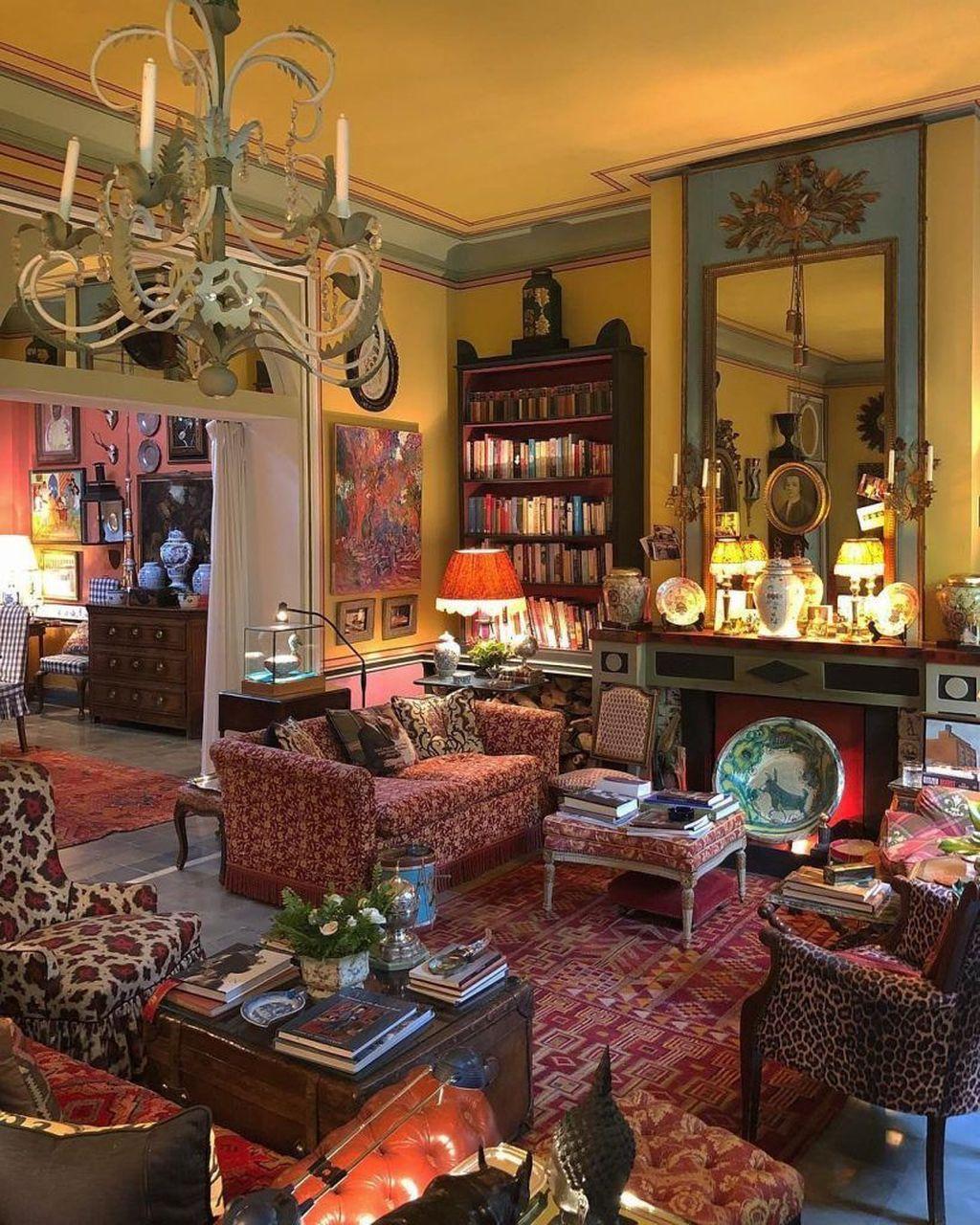 Amazing Vintage Living Room Decor Ideas 23