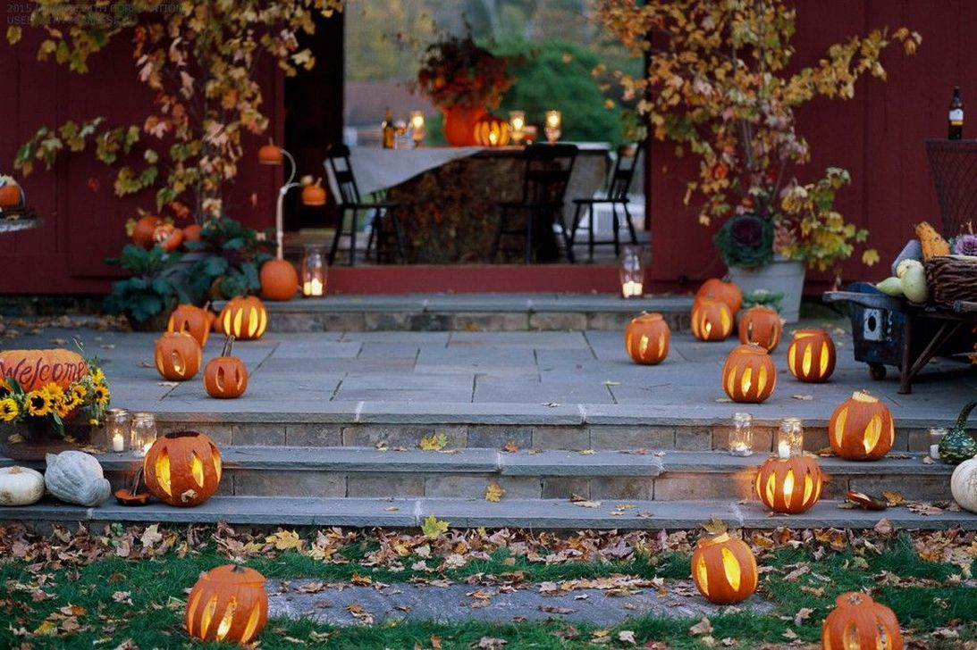 Awesome Halloween Backyard Party Decorations Ideas 20