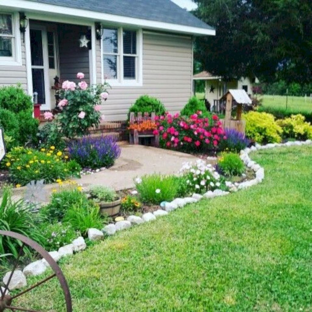Awesome Succulent Front Yard Landscaping Ideas 26