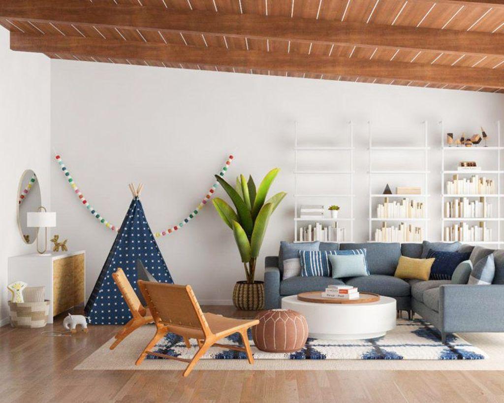 Fabulous Family Friendly Living Room Decoration Ideas 33