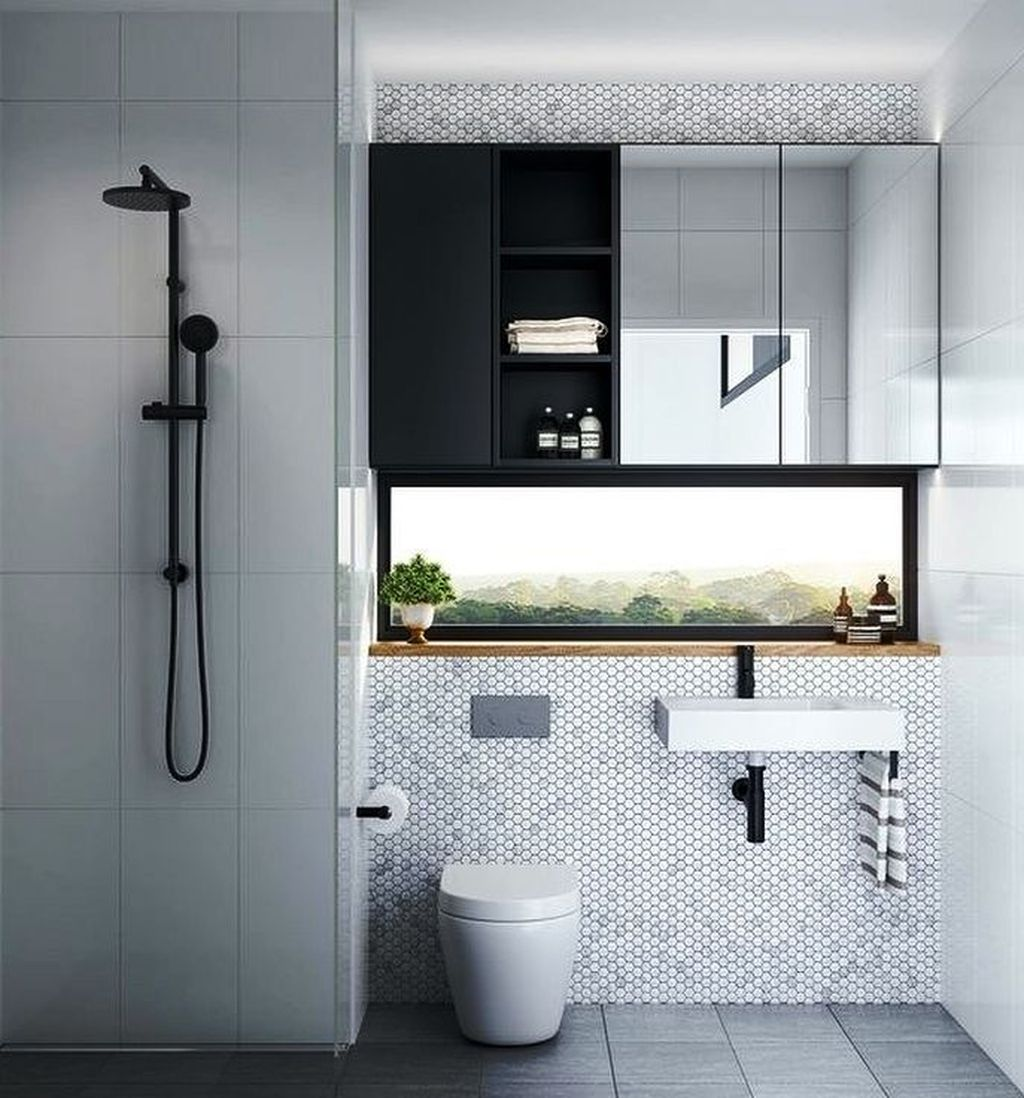 Fabulous Minimalist Bathroom Decor Ideas That Become Everyones Dream 05