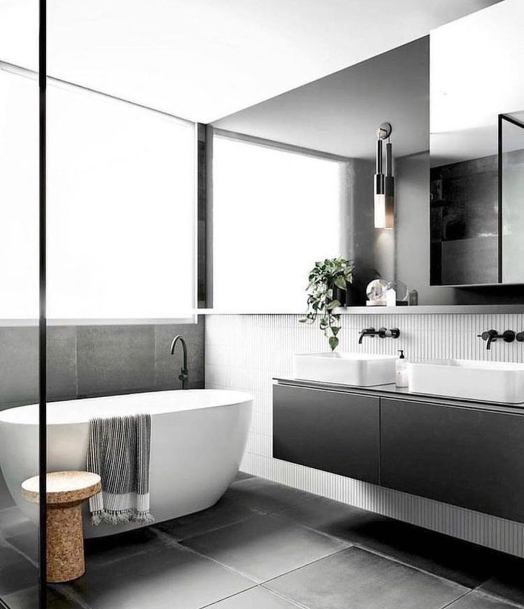Fabulous Minimalist Bathroom Decor Ideas That Become Everyones Dream 25