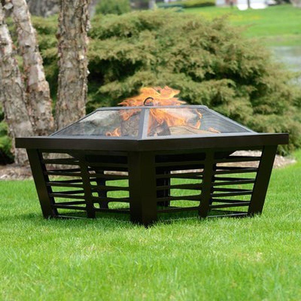 Fabulous Stone Fire Pit Design And Decor Ideas 04