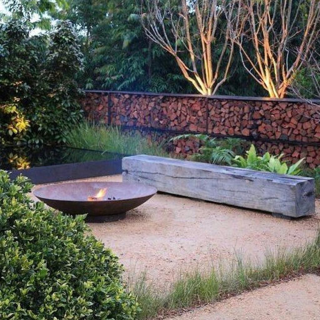 Fabulous Stone Fire Pit Design And Decor Ideas 30