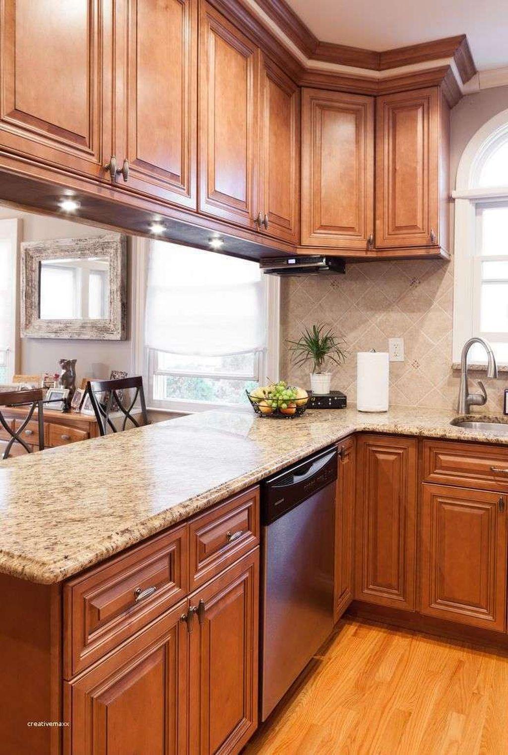 Gorgeous Kitchen Countertops Design Ideas 06