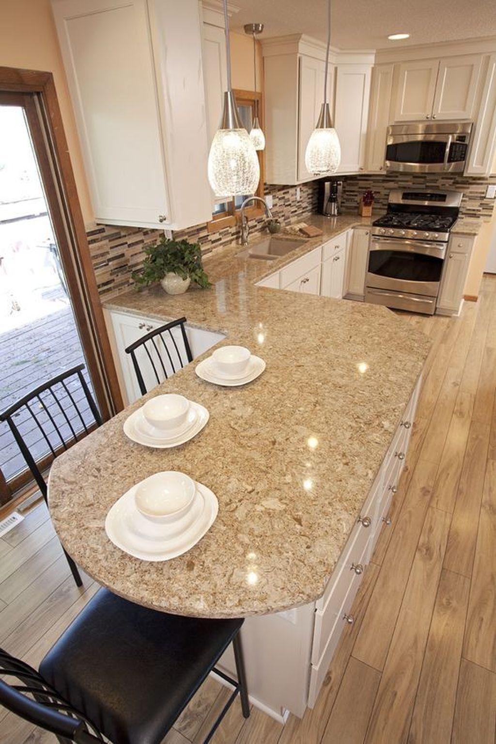 Gorgeous Kitchen Countertops Design Ideas 11