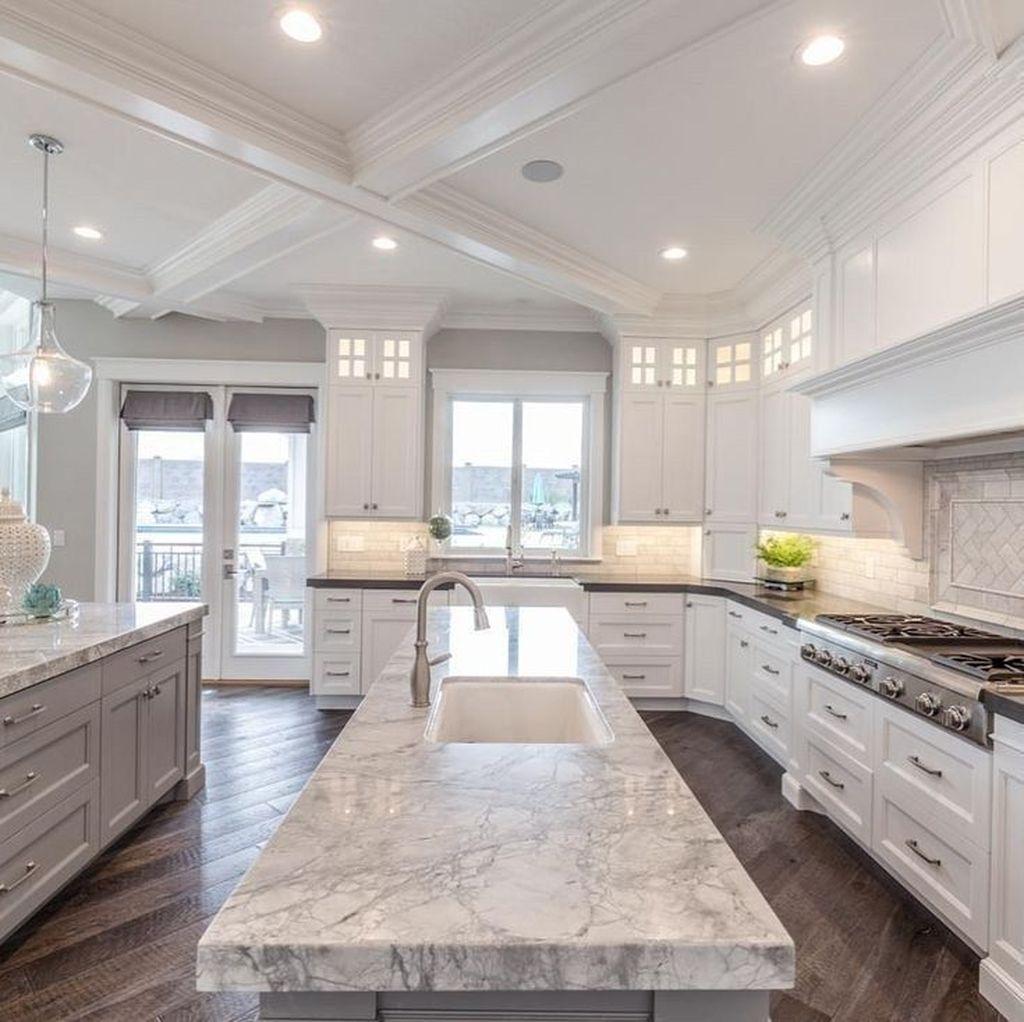 Gorgeous Kitchen Countertops Design Ideas 16