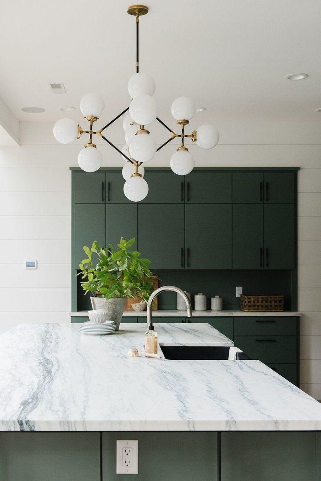 Gorgeous Kitchen Countertops Design Ideas 22