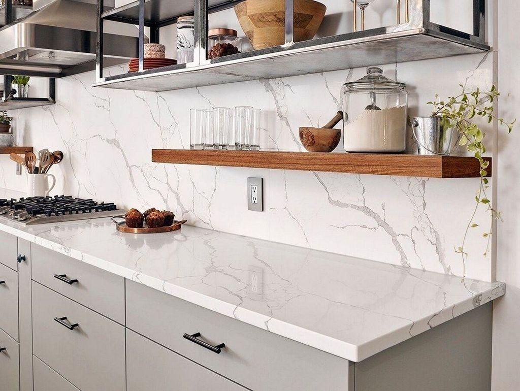 Gorgeous Kitchen Countertops Design Ideas 25