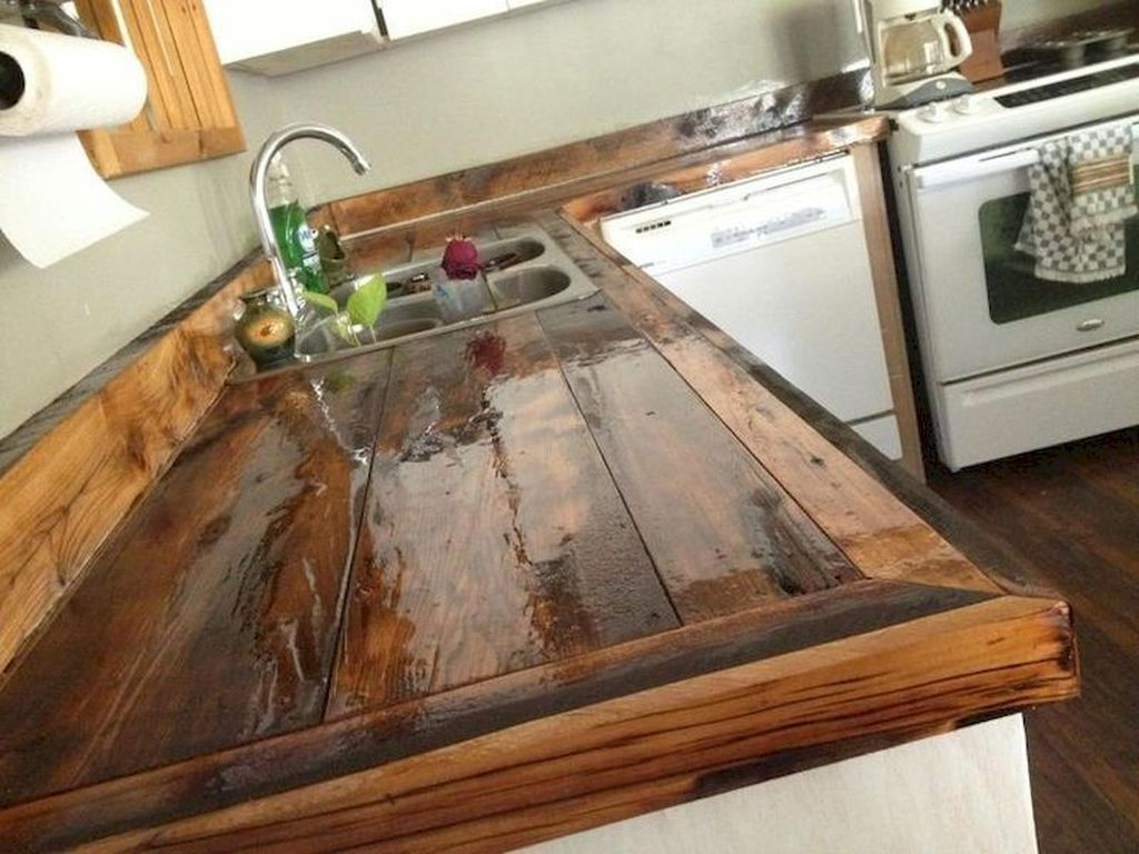 Gorgeous Kitchen Countertops Design Ideas 29