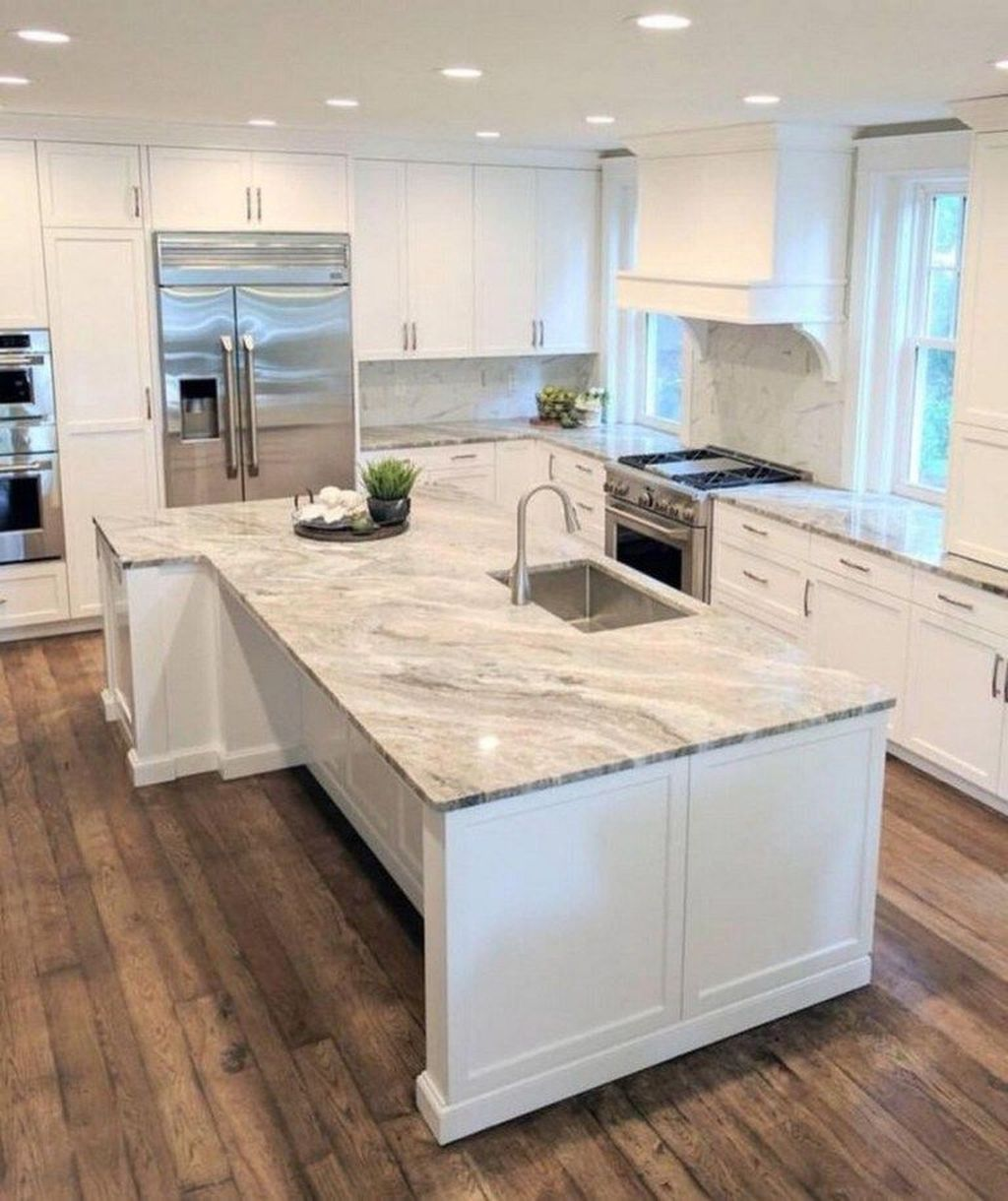 Gorgeous Kitchen Countertops Design Ideas 31
