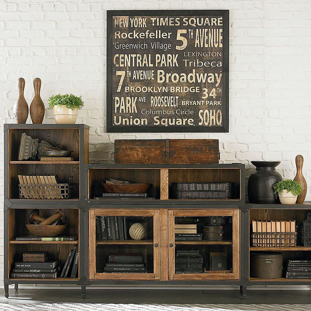 Gorgeous Vintage Farmhouse Office Decorating Ideas 04