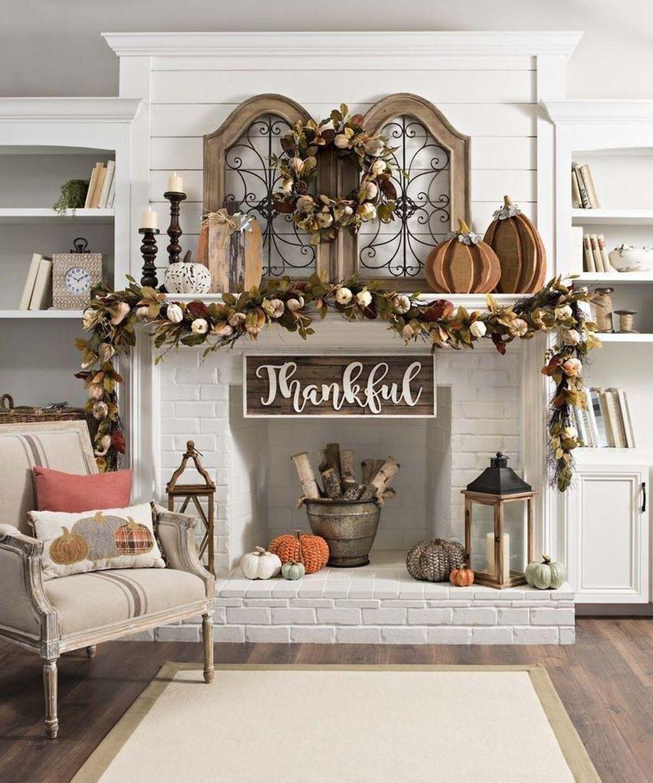 Inspiring Fall Living Room Decor Ideas On A Budget 25