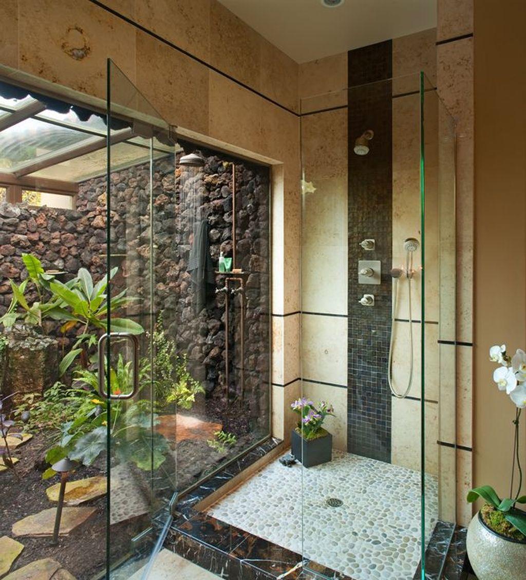 Inspiring Jungle Bathroom Decor Ideas 18