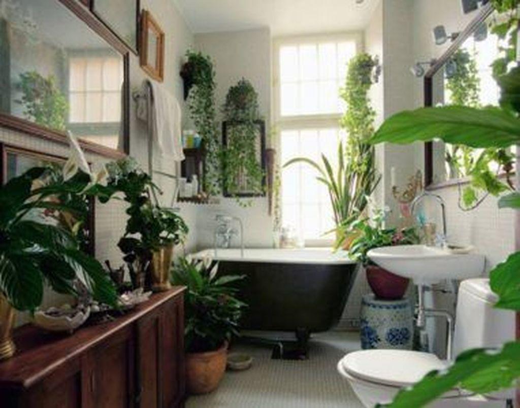 Inspiring Jungle Bathroom Decor Ideas 19