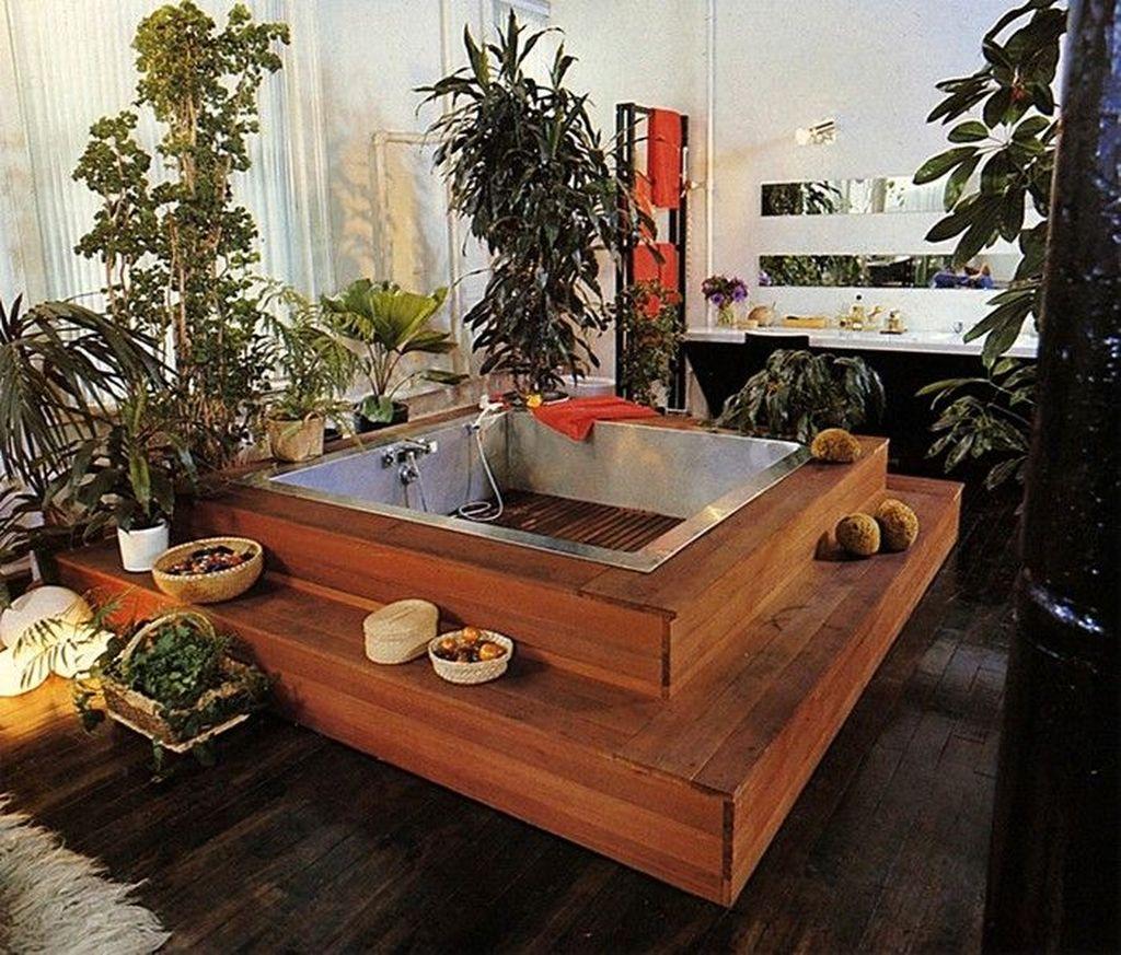 Inspiring Jungle Bathroom Decor Ideas 21