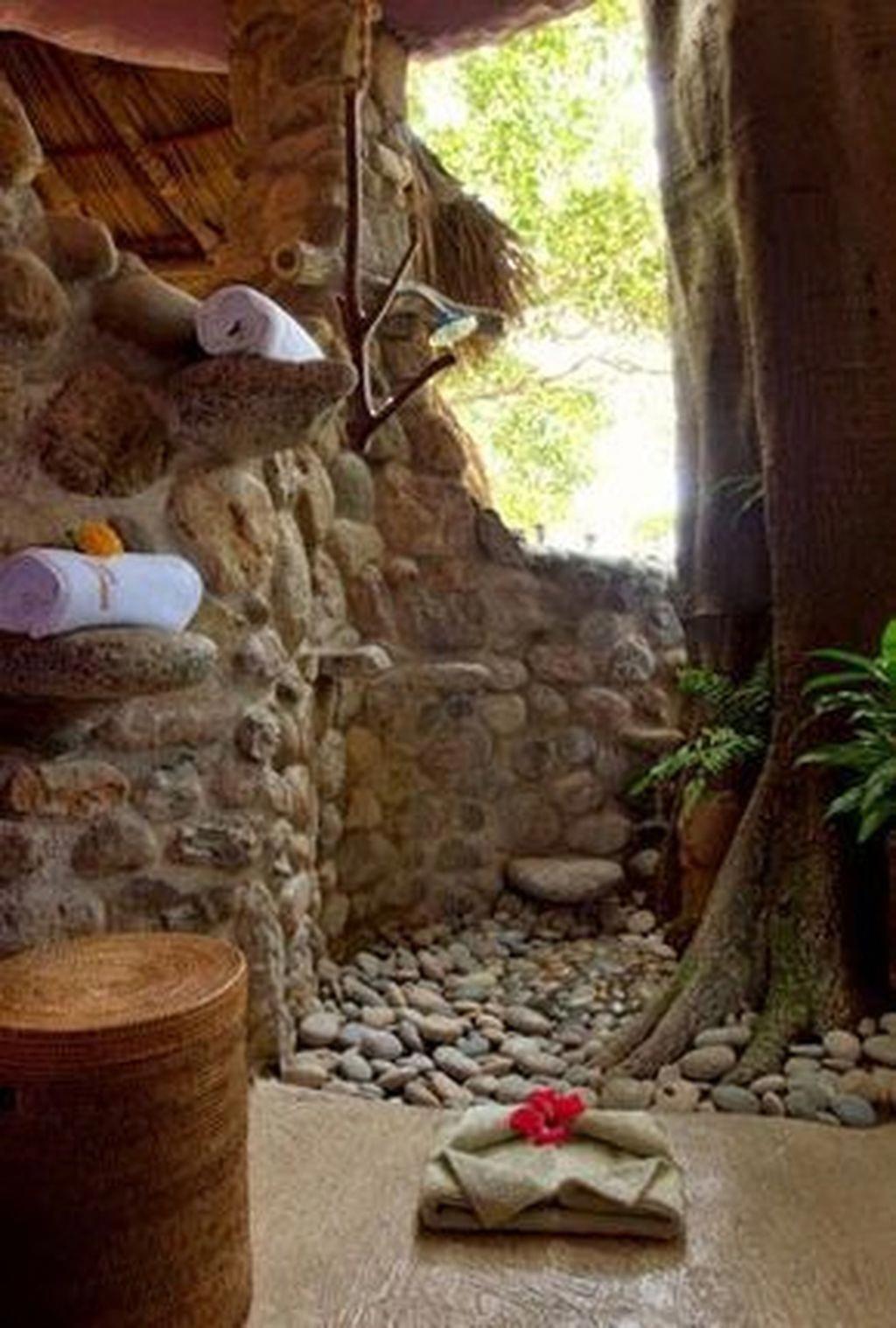 Inspiring Jungle Bathroom Decor Ideas 25