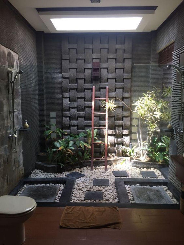 Inspiring Jungle Bathroom Decor Ideas 32