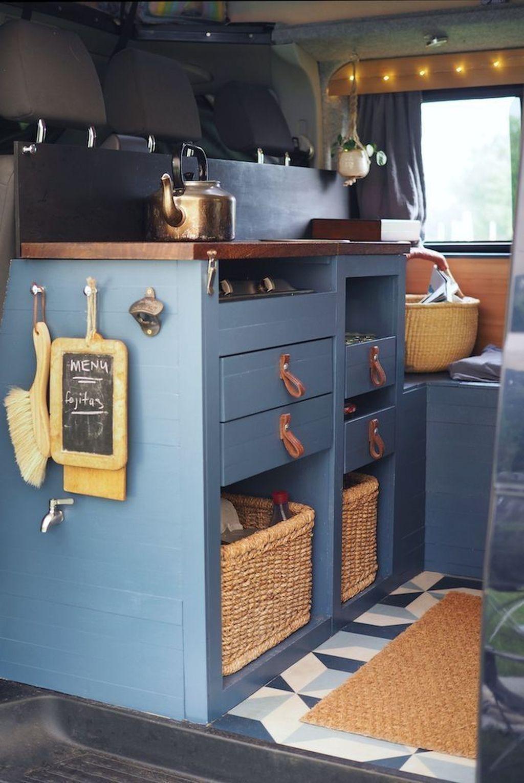 Inspiring RV Kitchen Design And Decor Ideas 15