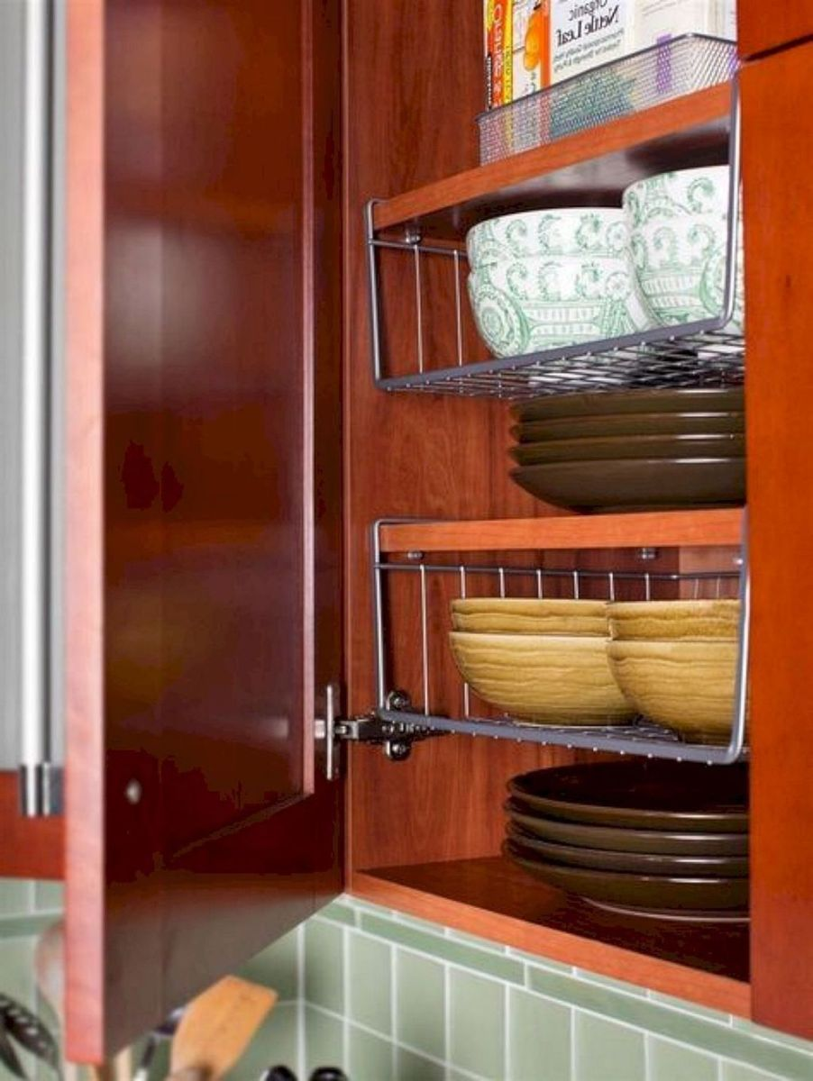 Inspiring RV Kitchen Design And Decor Ideas 26