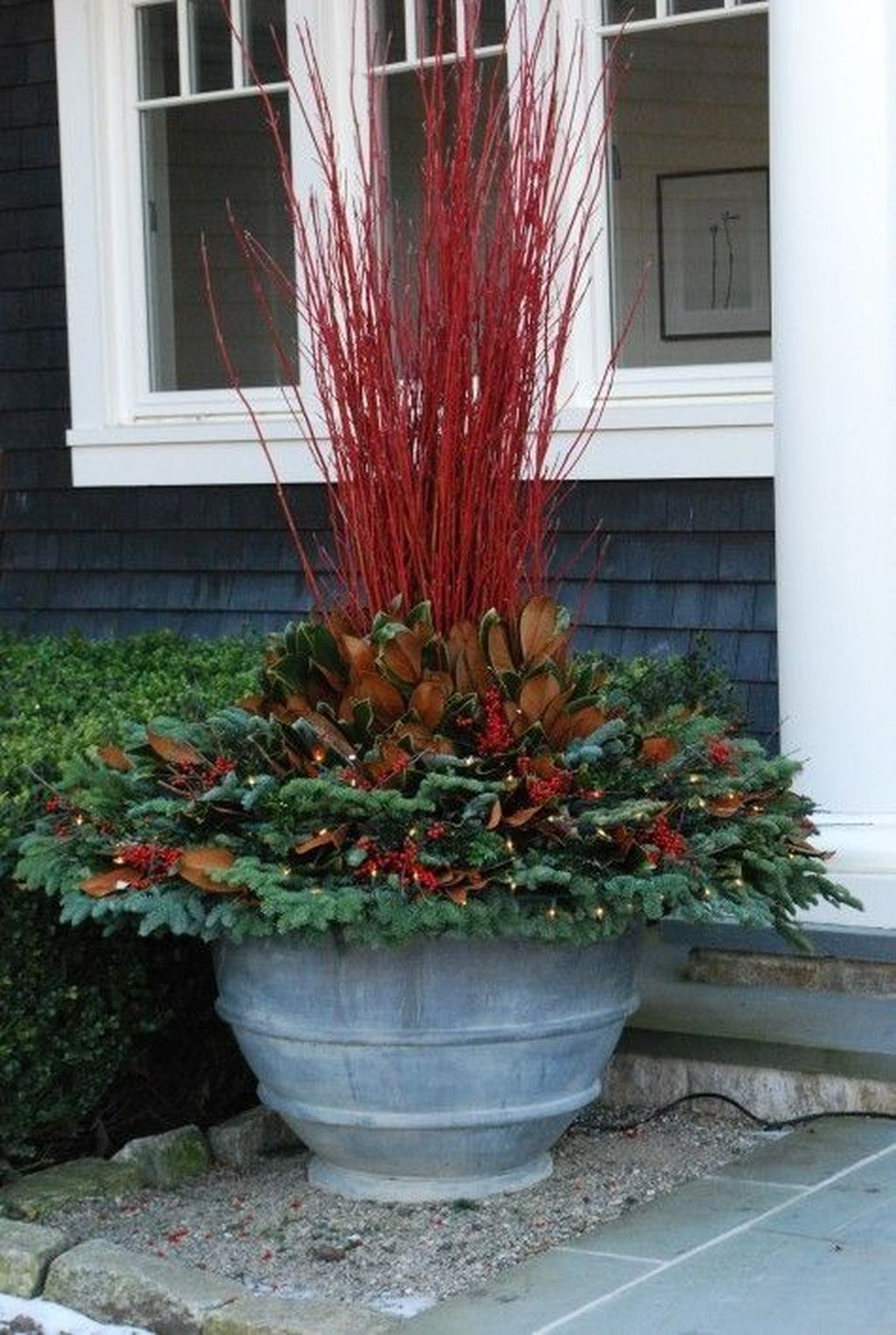 Inspiring Winter Container Gardening Ideas 14