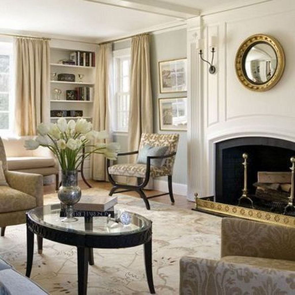 Lovely Capde Cod Living Room Design Ideas 01